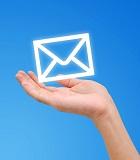 email adatbázis építés